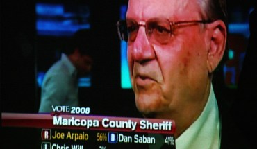 Maricopa County Sherrif Joe Arpaio - Photo: Cobalt123/flickr