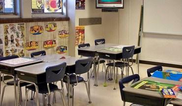 A classroom in Birmingham, AL