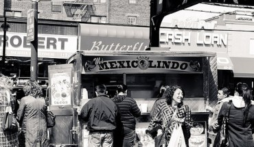 Jackson Heights taco stand