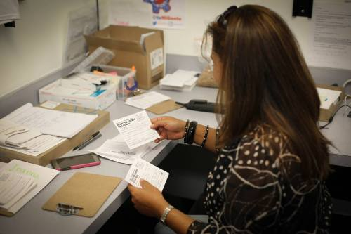organize-now-office-in-orlando-arranging-the-days-mail-in-ballots