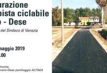 Photo of Inaugurata la nuova ciclabile di via Altinia Favaro-Dese