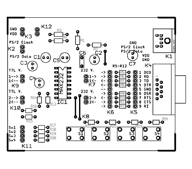 Connessione Di Microcontrollori A Porte Rs 232 E