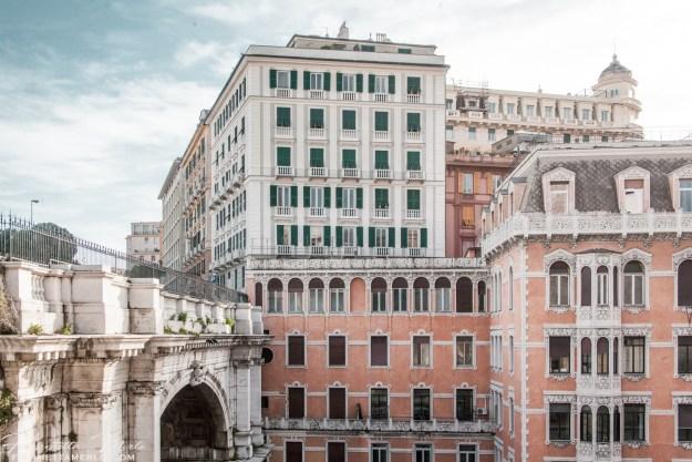 Genova - Ponte Monumentale