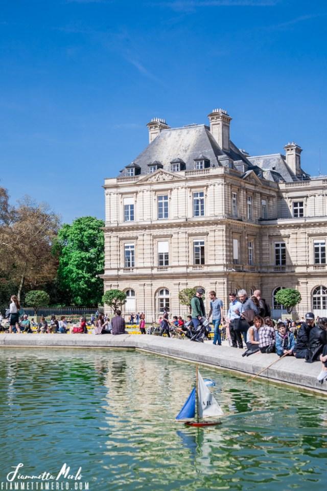 Giardini del Lussemburgo Parigi