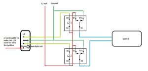 Need help with Electric windows Relay diagram  The FIAT