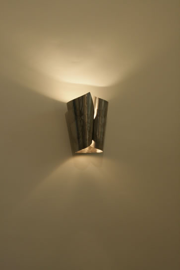 Stainless Steel And Brass Wall Lights For Hallways And