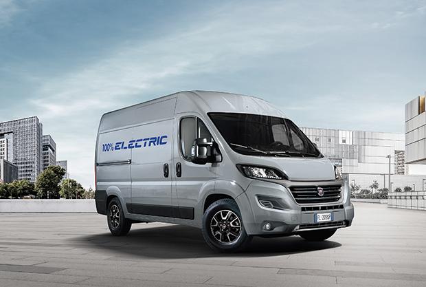 New Fiat Ducato Van Model