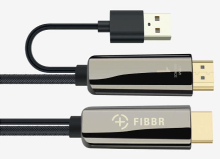 FIBBR debiutuje z nowym światłowodowym kablem Pure 2 na CEDIA 2019