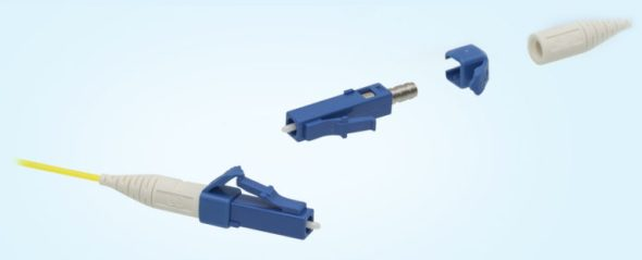 LC fiber connector