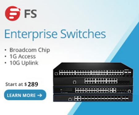 FS enterprise switches