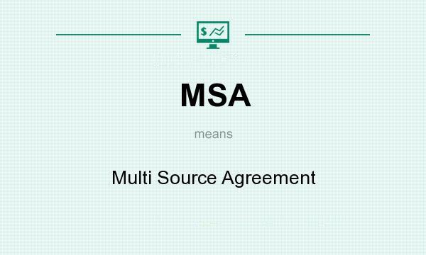 MSA standard