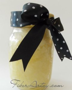 Lemon Sugar Homemade Hand Scrub