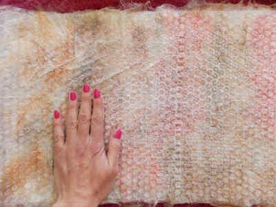 Felting Techniques, Wet Felt Fabric, FiberArtsy.com