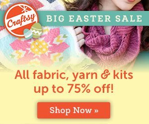 Craftsy's BIG Easter Sale: Up to 75% Off !