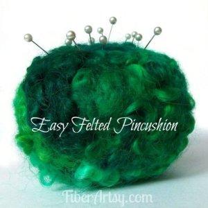 DIY Felted Pincushion – Great Gift Idea!