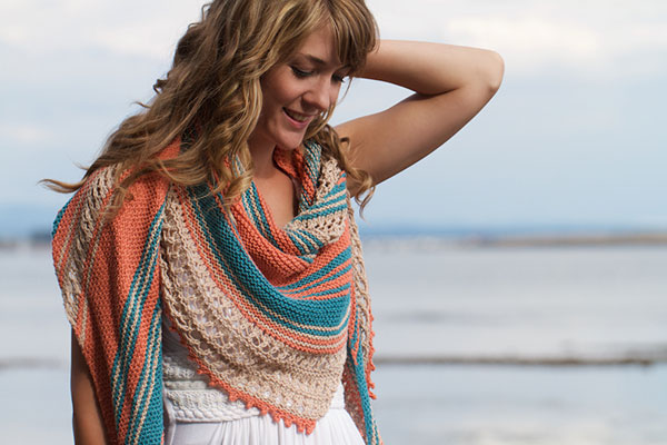 The Beachcomber Knitting Kit by KnitPicks, Great Gift Idea