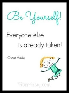Be Yourself….