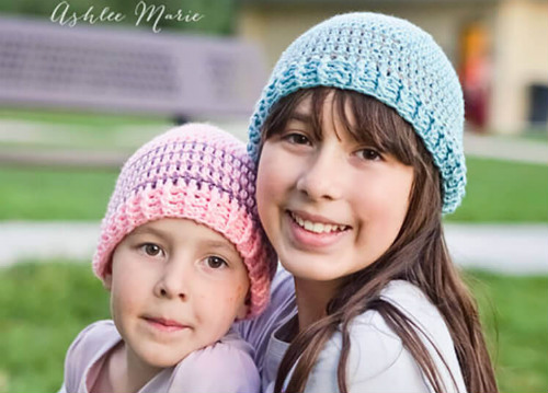 Striped Beanie Pattern for Crochet