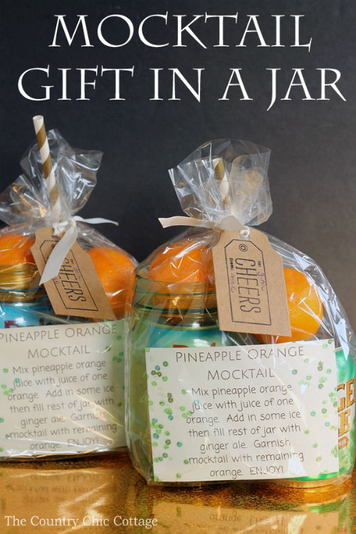 Mocktail Gift in a Mason Jar