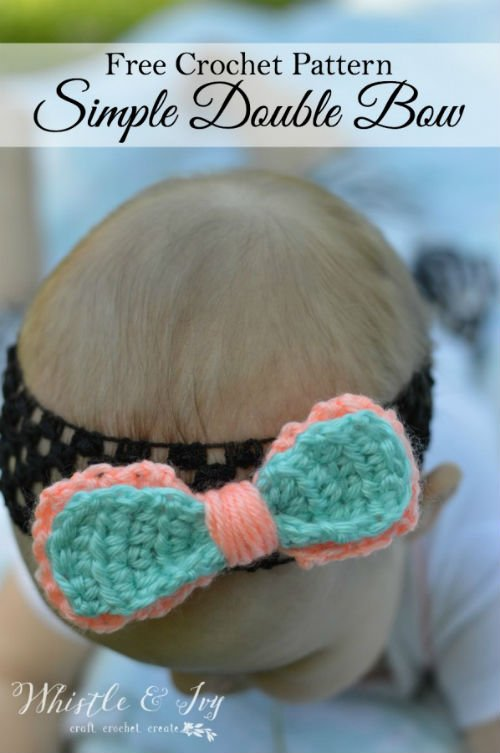 Free Pattern for a Crochet Bow
