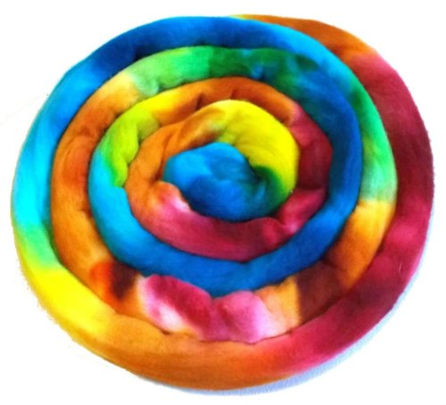 How to dye wool yarn or roving
