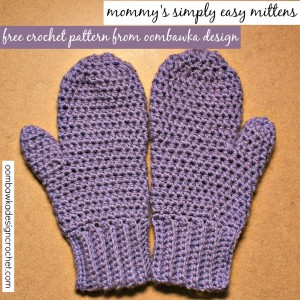 Simply Easy Crochet Mitten Pattern