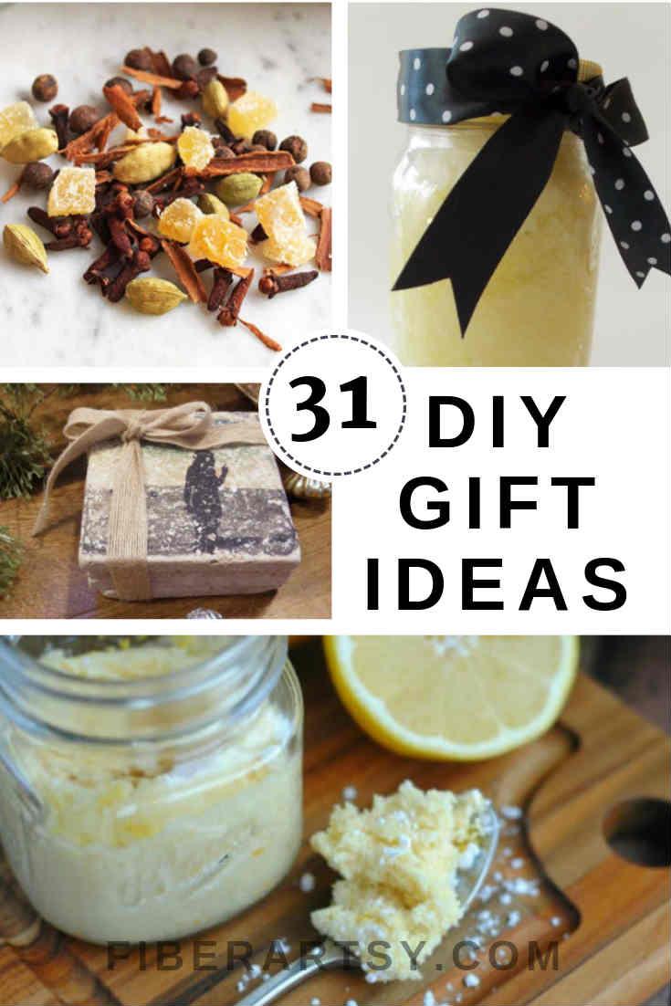 Handmade DIY Gift Ideas for Christmas or Birthdays