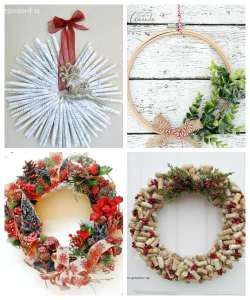 DIY Christmas Wreath Ideas