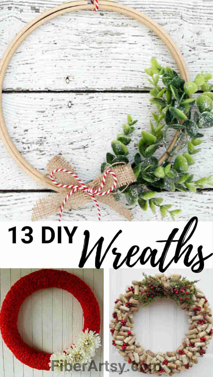13 Homemade Christmas Wreaths for Your Home
