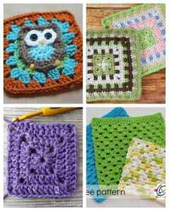 15 Crochet Granny Squares