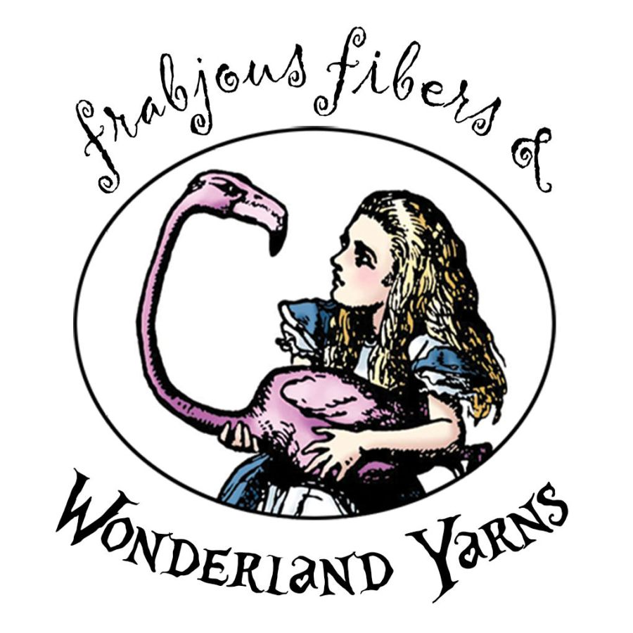 frabjous fibers & wonderland yarns for knitting, spinning and crocheting