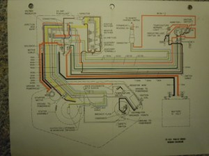 FiberGlassics®  1962 Johnson Electramatic 75 hp wiring