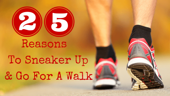 The health benefits of walking are incredible!