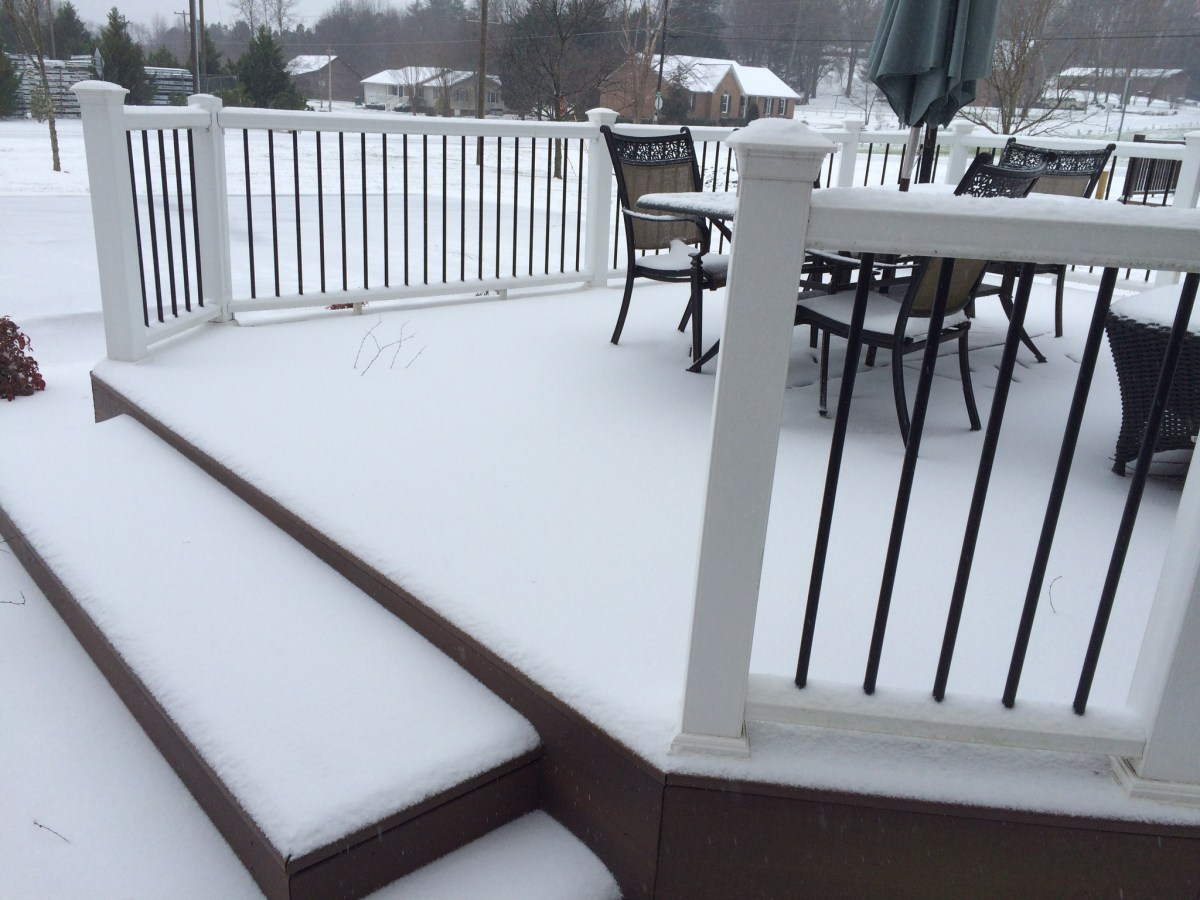 Image result for Tips for Maintaining Composite Decks in Snow and Ice