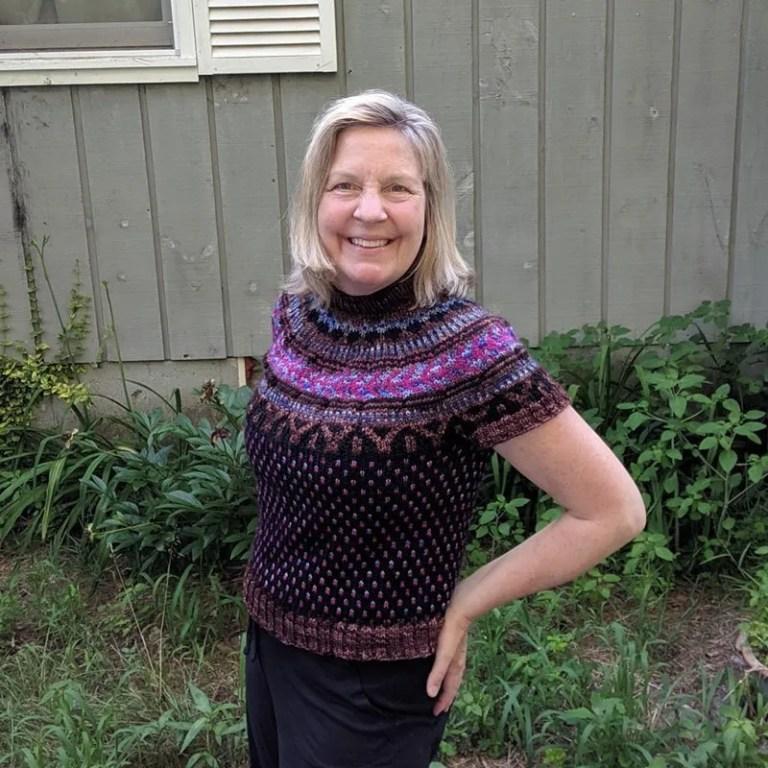 Summer Knitting: Soldotna Crop