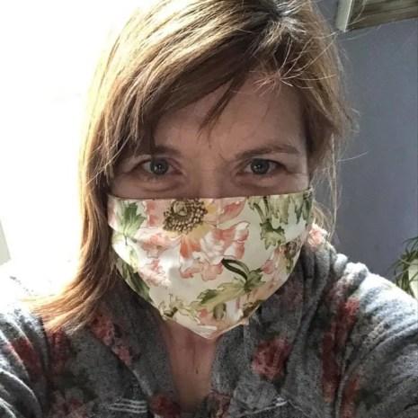 Handmade-Face-Mask-Flower
