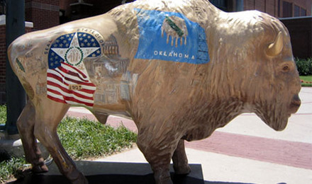 Buffalo   Custom Fiberglass Statue   Fiberstock