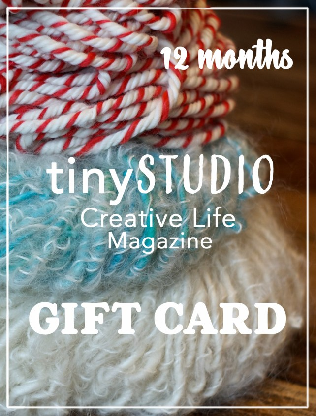 12 Months tinyStudio Gift Card