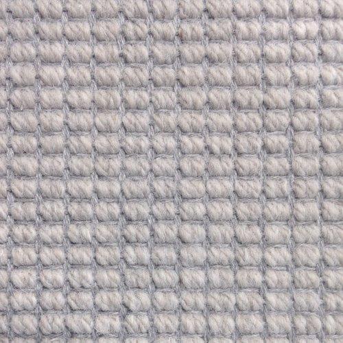 Wool Flatweave Classic Big Boucle Inox