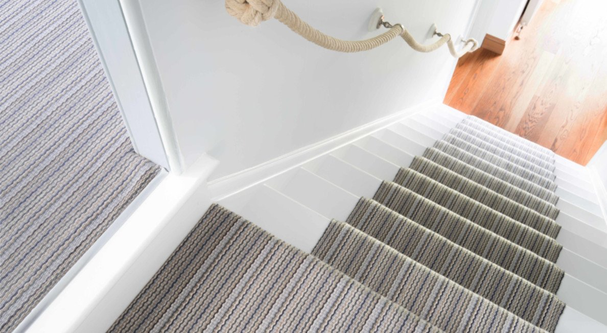 fibre flooring wool stairs SPINNER