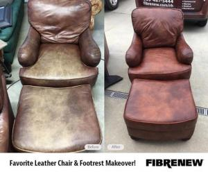 leather furniture restored
