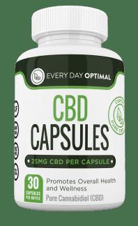Every Day Optimal CBD Oil 25mg Capsules