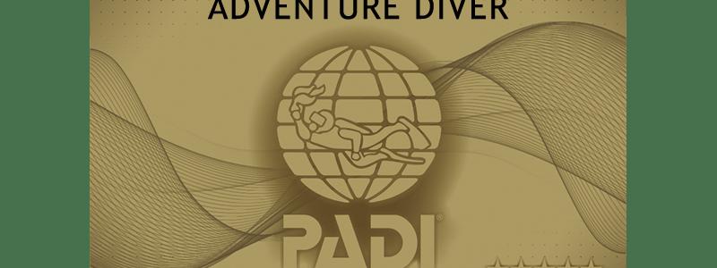 PADIアドベンチャーダイバー