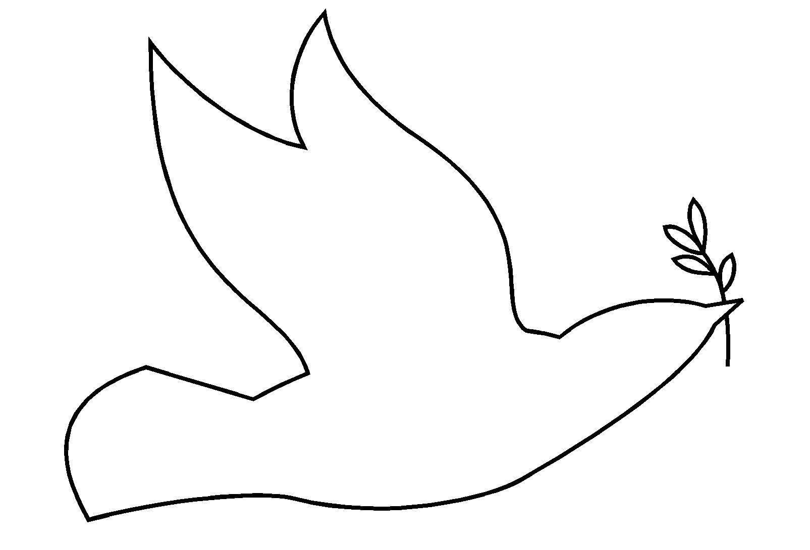 Art Graphique Tracer Des Silhouettes De Personnages Et D Animaux En Maternelle Silhouette D Une Colombe