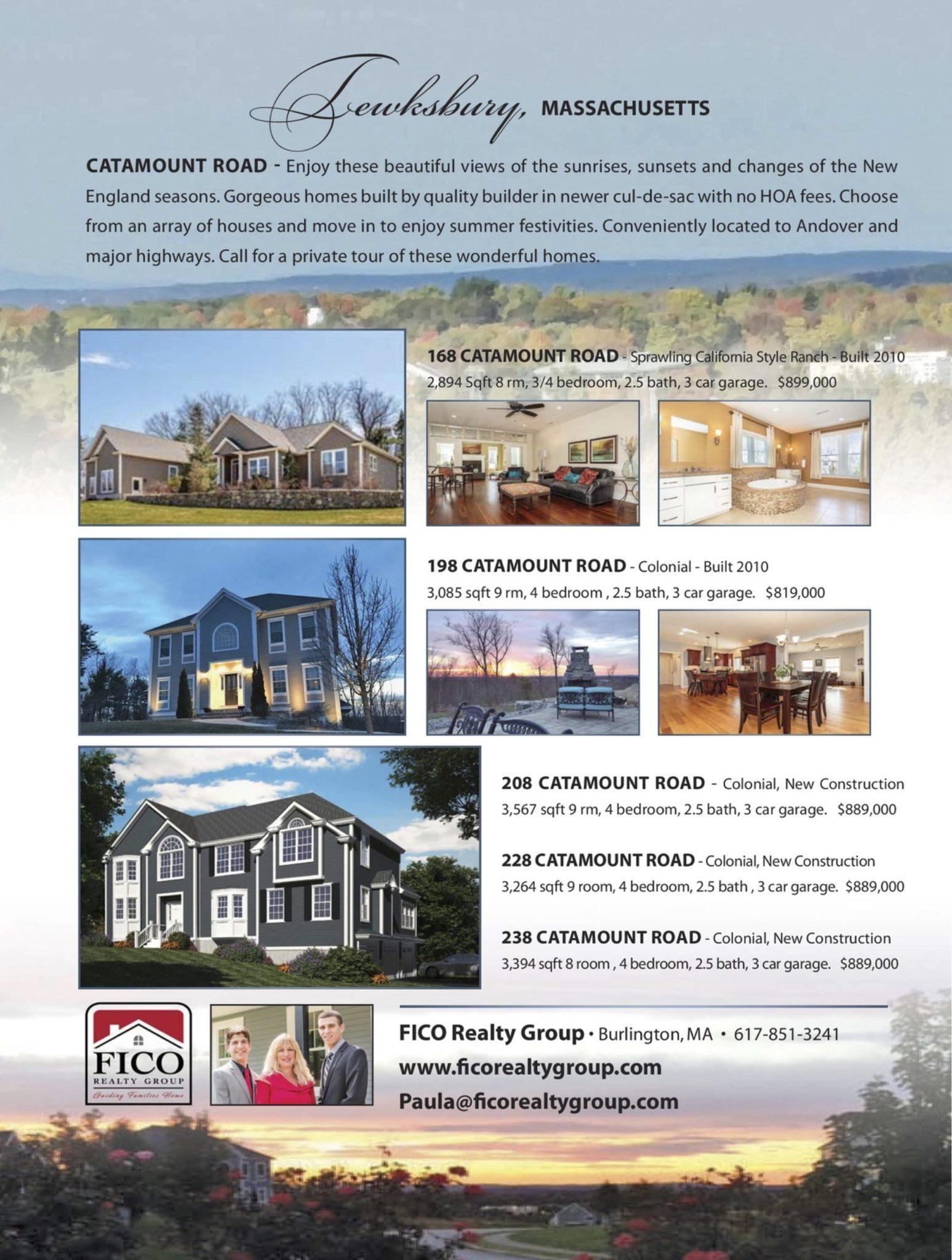 distinctive home magazine featuring catamount road