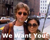 John Yoko We Want You