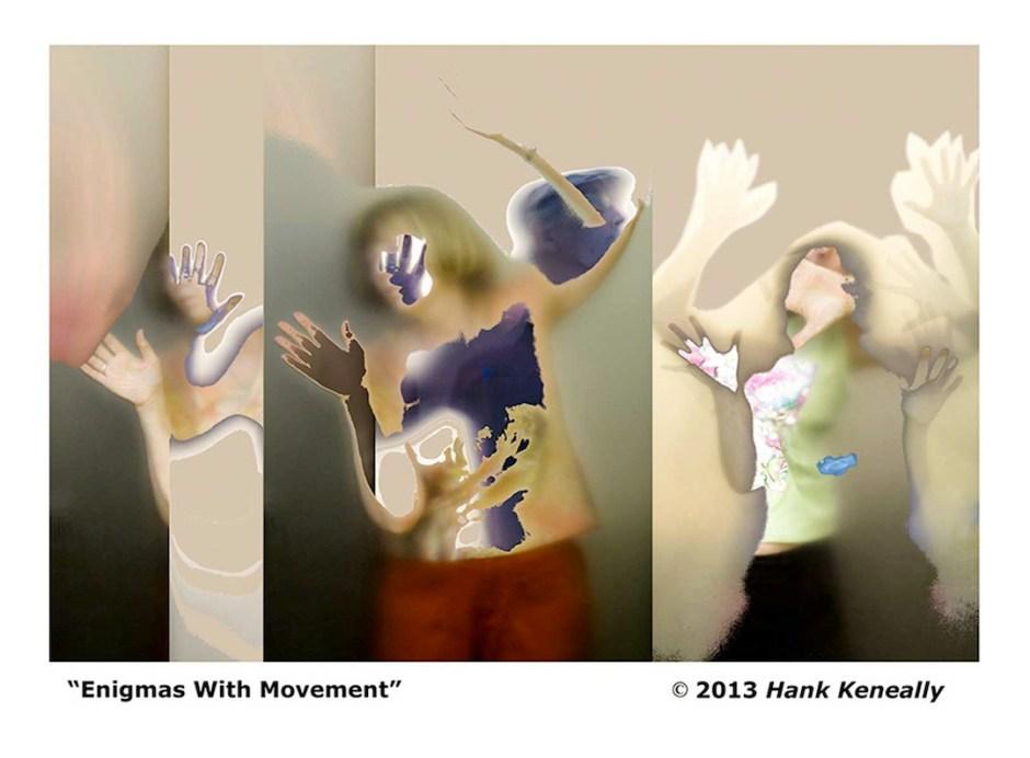 "Hank Keneally's ""Diffusion Portraits"" Series"