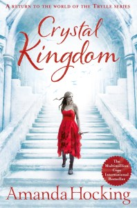 Q&A and Review: Crystal Kingdom by Amanda Hocking