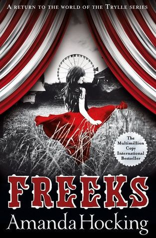 Blog Tour: FREEKS by Amanda Hocking (Review + Q&A)