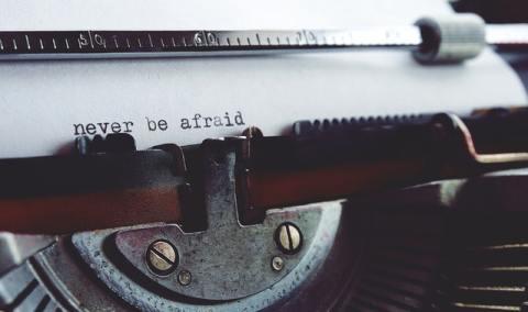 Avoir du succès dans l'écriture-peur